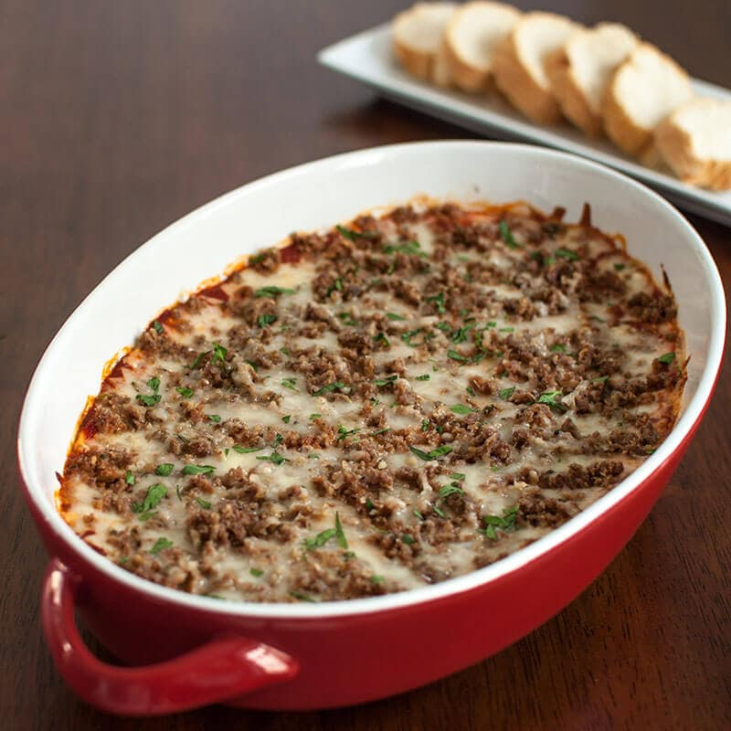 Meatball Sub Dip Recipe