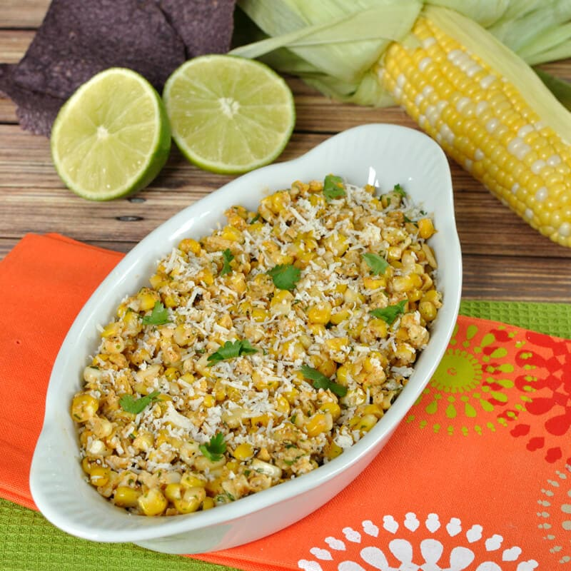 The same great flavor of grilled Mexican Street Corn in an easy to eat salsa. Serve with your favorite tortilla chips.