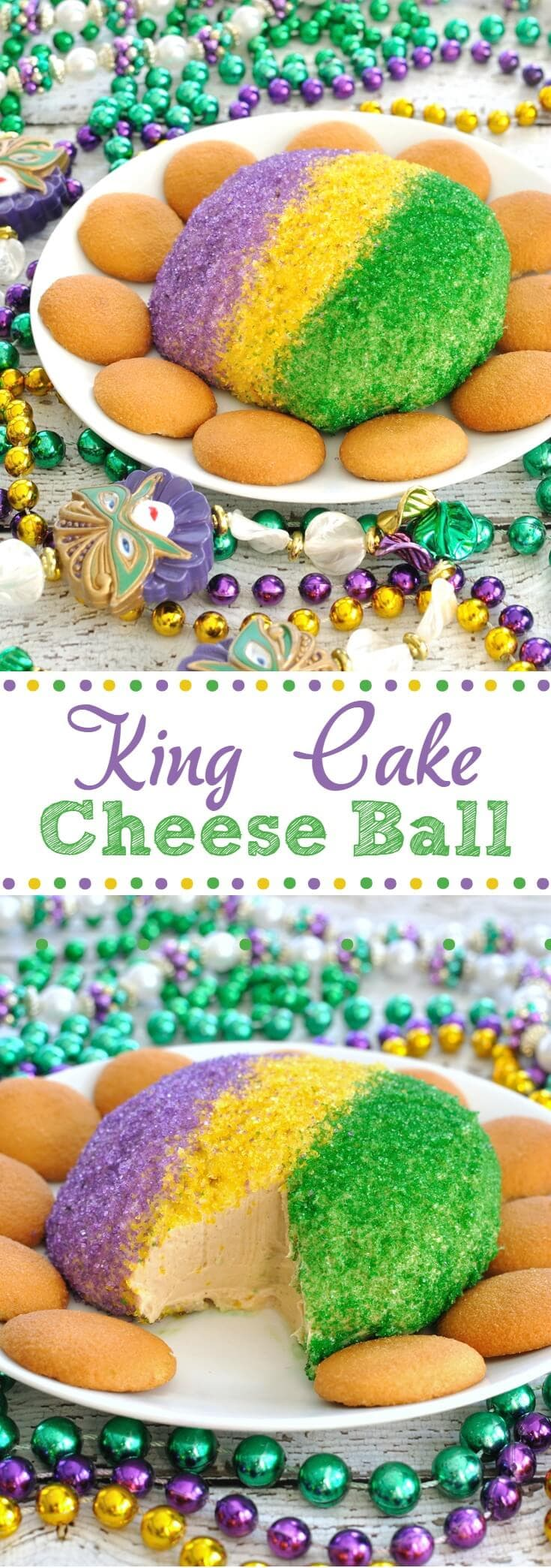 Mardi Gras Cake Ball Recipe