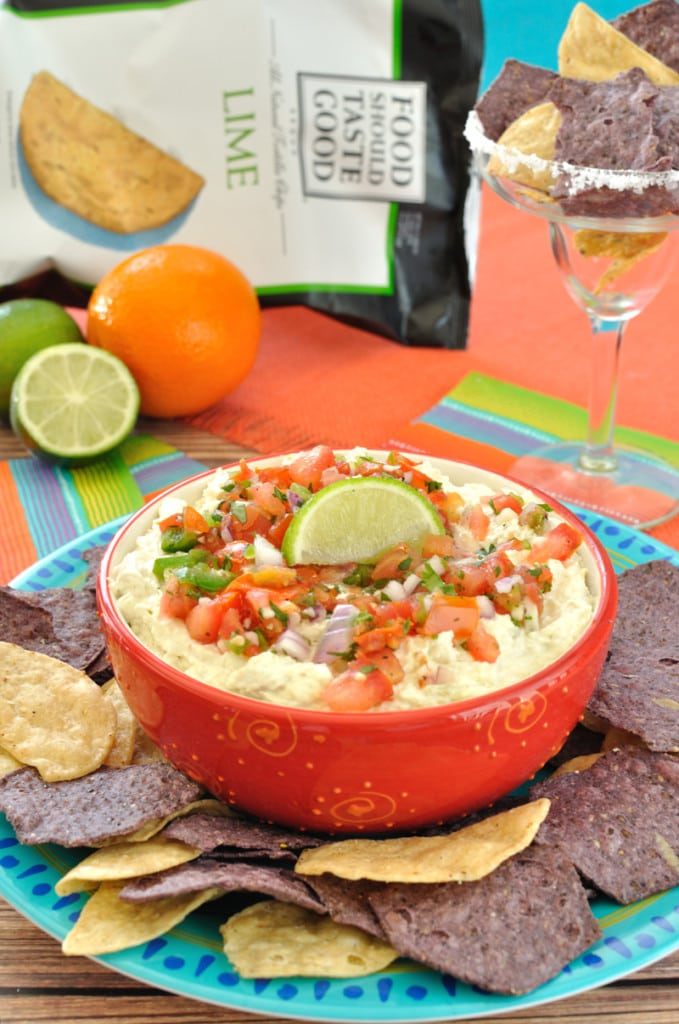 Easy slow cooker chicken dip recipe. This Crock Pot Margarita Chicken Dip will be a great appetizer for Cinco de Mayo or a summer party.