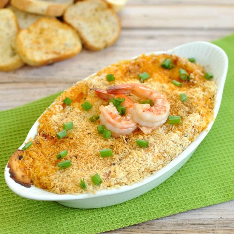 Bang Bang Shrimp Cream Cheese Dip
