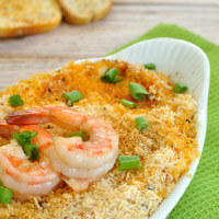 Easy dip recipe featuring the flavors of the famous Bang Bang Shrimp appetizer. Bang Bang Shrimp Dip will be a hit at your next party or game day tailgate.