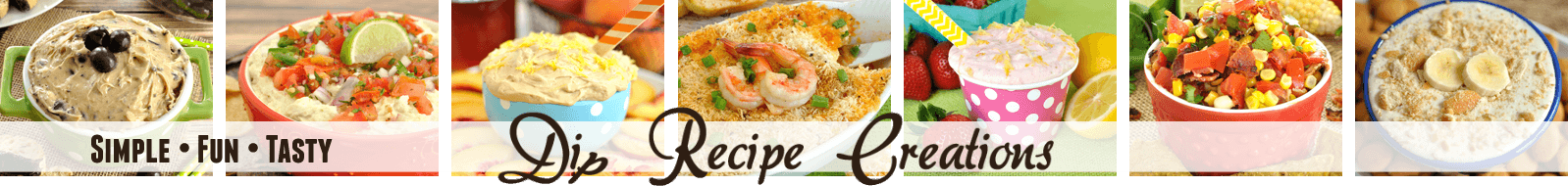 Dip Recipe Creations Large Logo