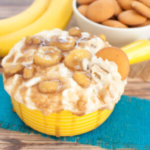 Bananas Foster Cheesecake Dip